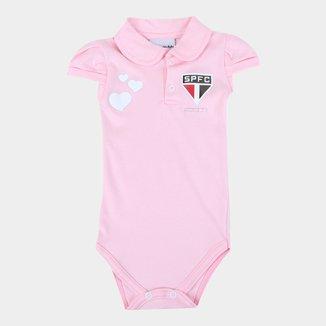 Body Polo São Paulo Infantil Torcida Baby