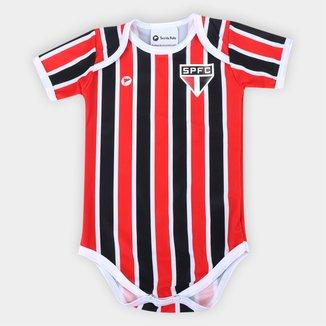 Body São Paulo Listrado Torcida Baby