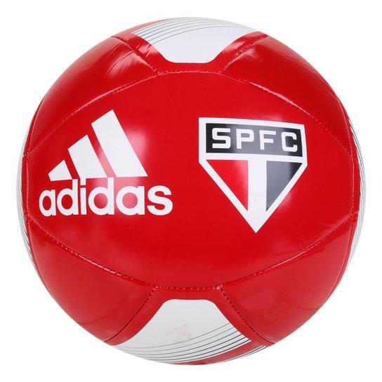 Bola de Futebol Campo Adidas São Paulo Club - Vermelho+Branco