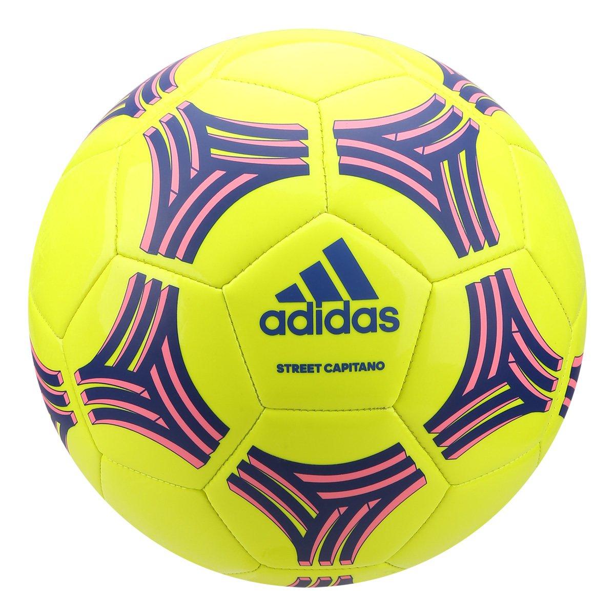 af0f4e54b Bola de Futebol Campo Adidas Street Capitano Tango Glider - Amarelo e Azul  - Compre Agora