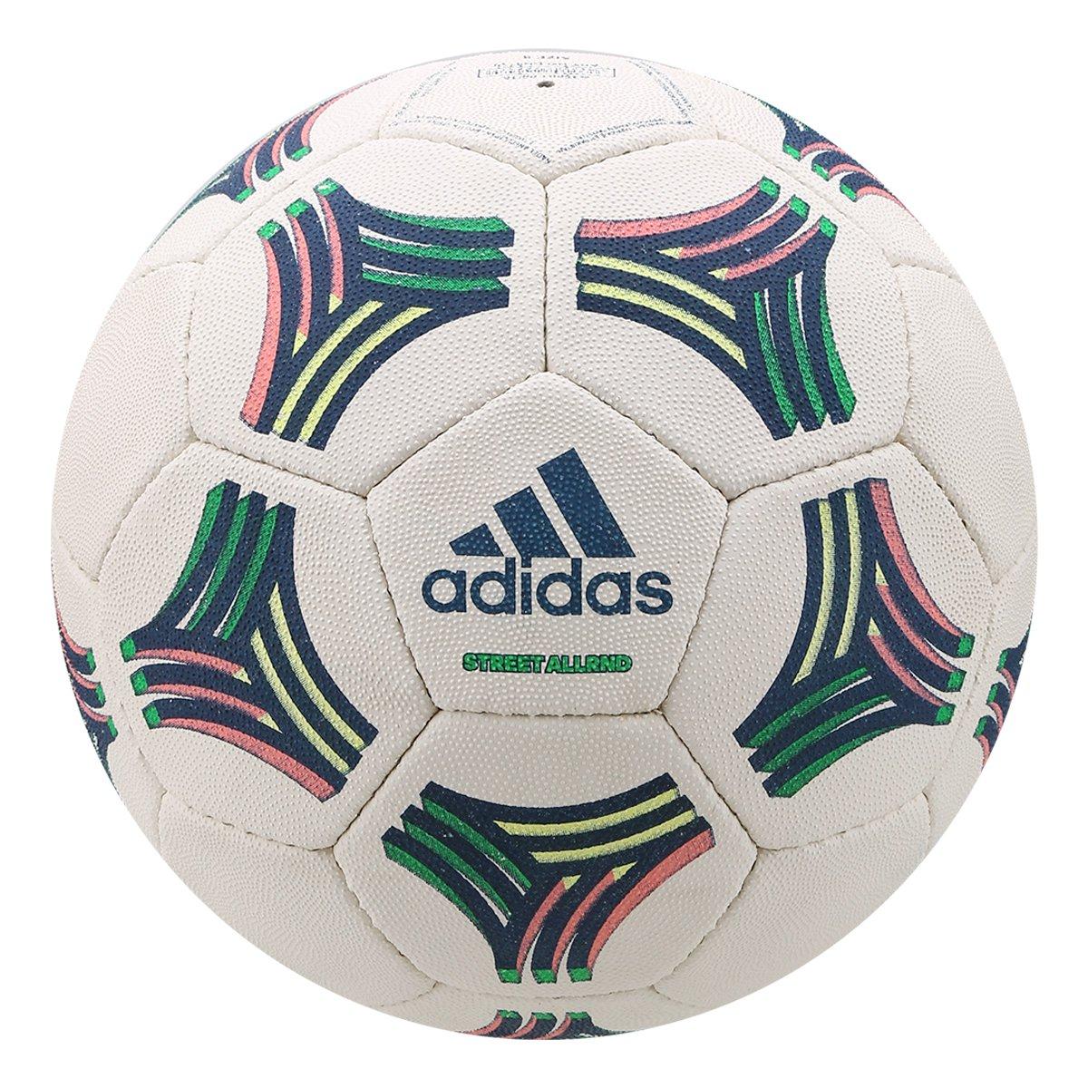 713851548e8d3 Bola de Futebol Campo Adidas Tango Allround Street - Branco e Azul - Compre  Agora