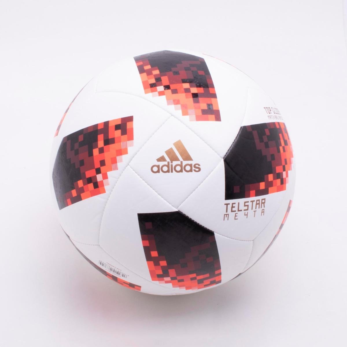 Bola de Futebol Campo Adidas Telstar 18 Top Glider Réplica Mata-Mata Copa do  Mundo ... 721100f79e1c3
