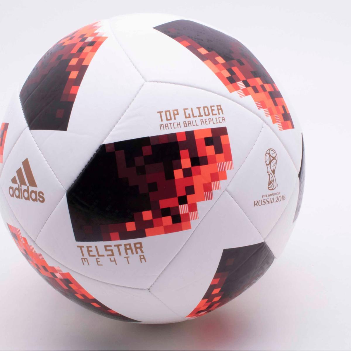 ... Bola de Futebol Campo Adidas Telstar 18 Top Glider Réplica Mata-Mata Copa  do Mundo ... aead606f5f37a