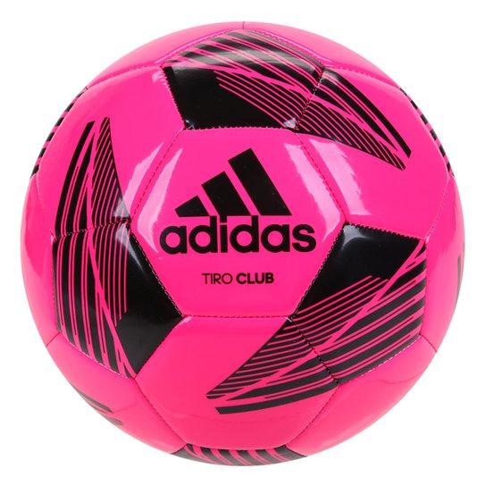 Bola de Futebol Campo Adidas Tiro Club - Rosa+Preto