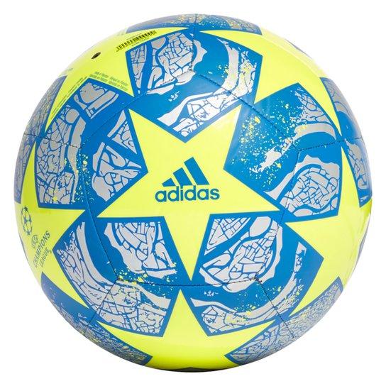 Bola de Futebol Campo Adidas UEFA Champions League Club Final Istanbul 20 - Amarelo+Prata