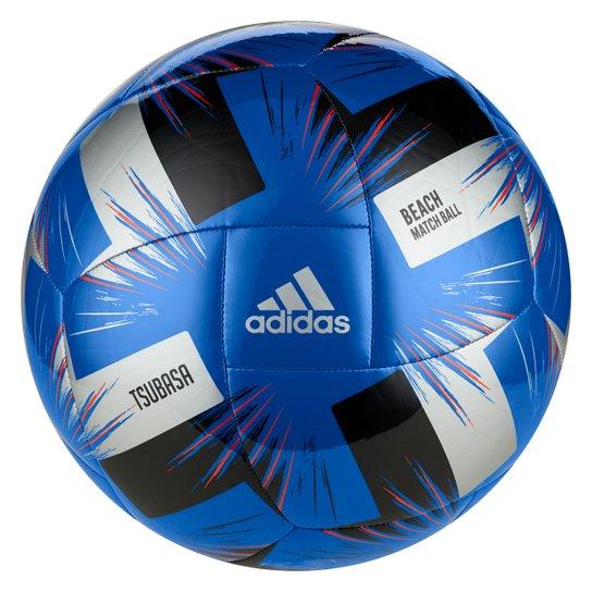 Bola de Futebol de Areia Adidas Tsubasa Beach Match Ball - Azul+Vermelho