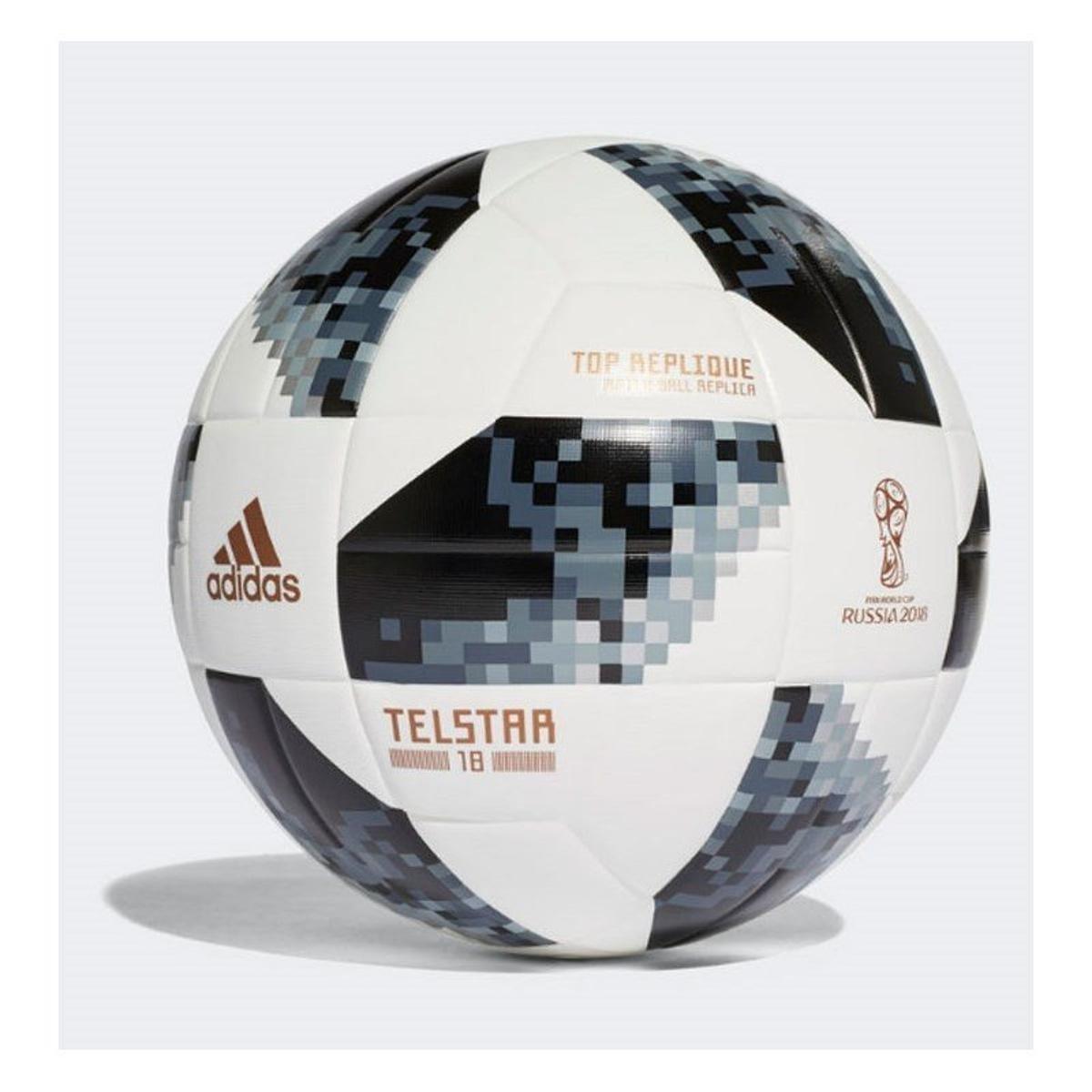 5e51c777a1da6 Bola Futebol Campo Adidas Telstar 18 Copa do Mundo TOP Replique FIFA -  Branco - Compre Agora