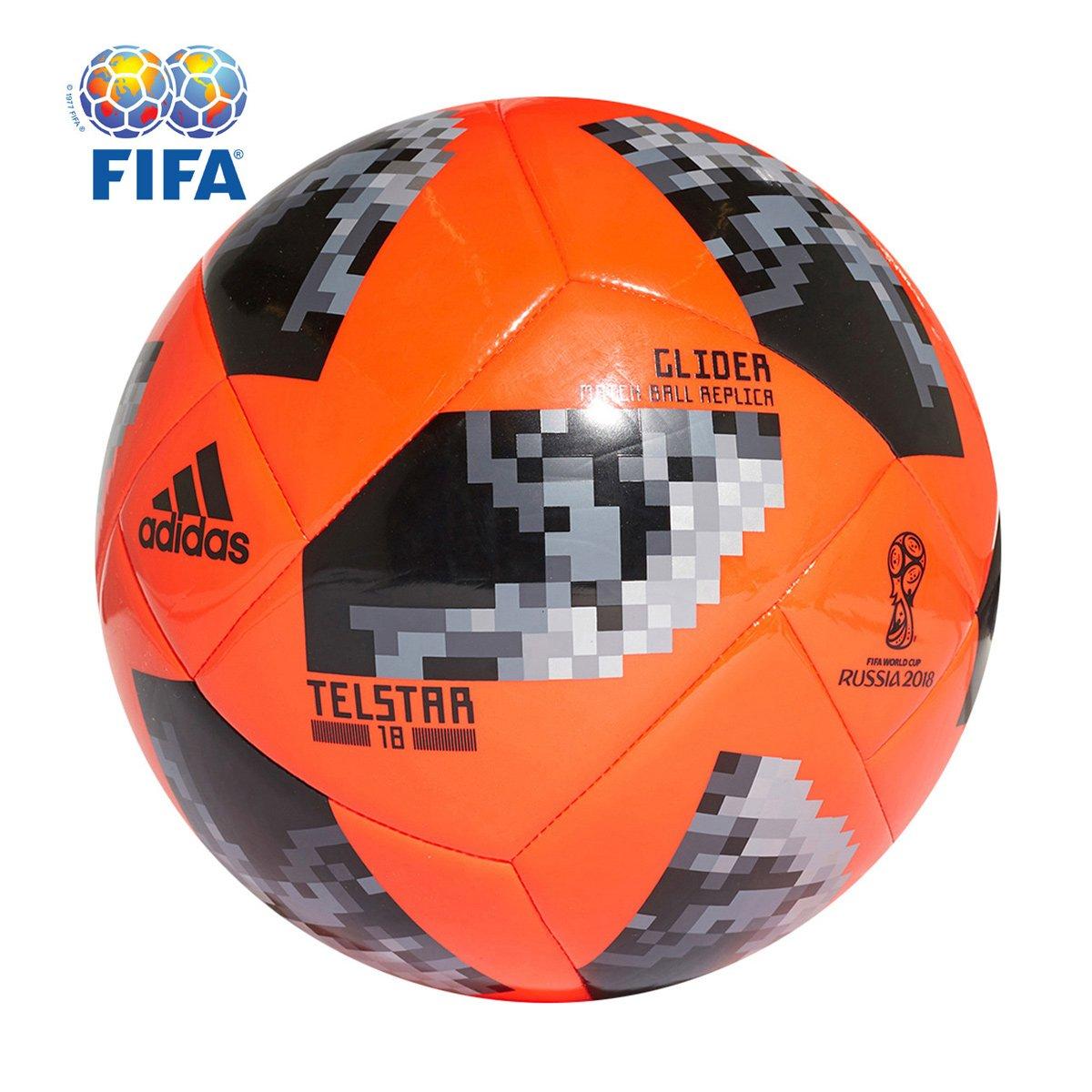 2b6f11e6e Bola Futebol Campo Adidas Telstar 18 Glider Copa do Mundo FIFA