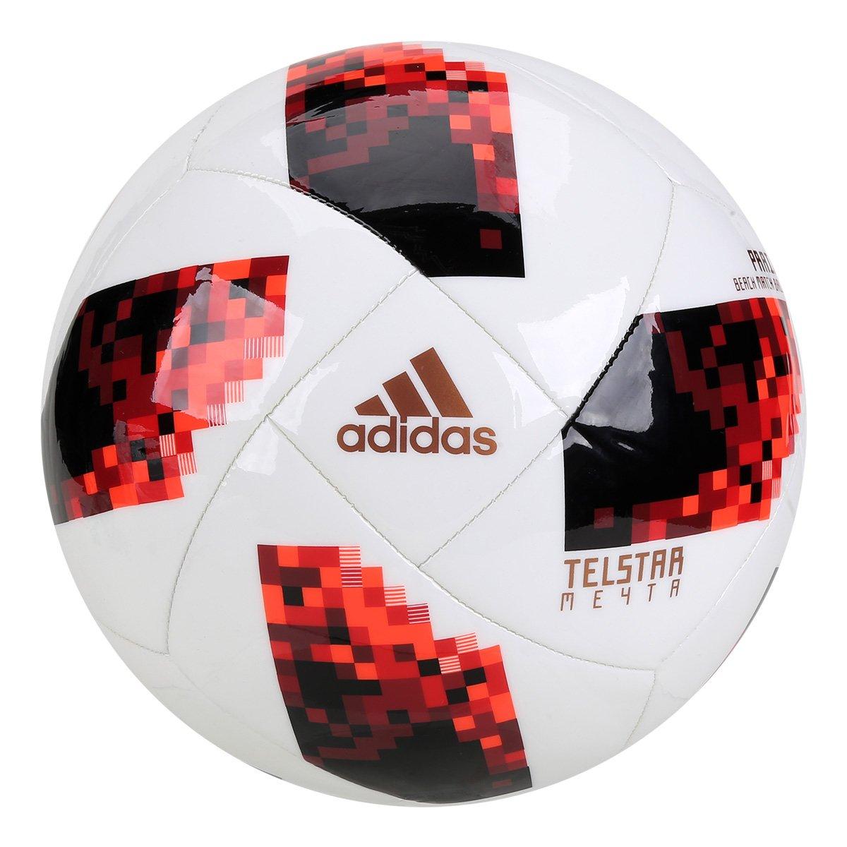 Bola Futebol de Areia Adidas Telstar 18 Mata-Mata Copa do Mundo FIFA ... e8265e120d0fb