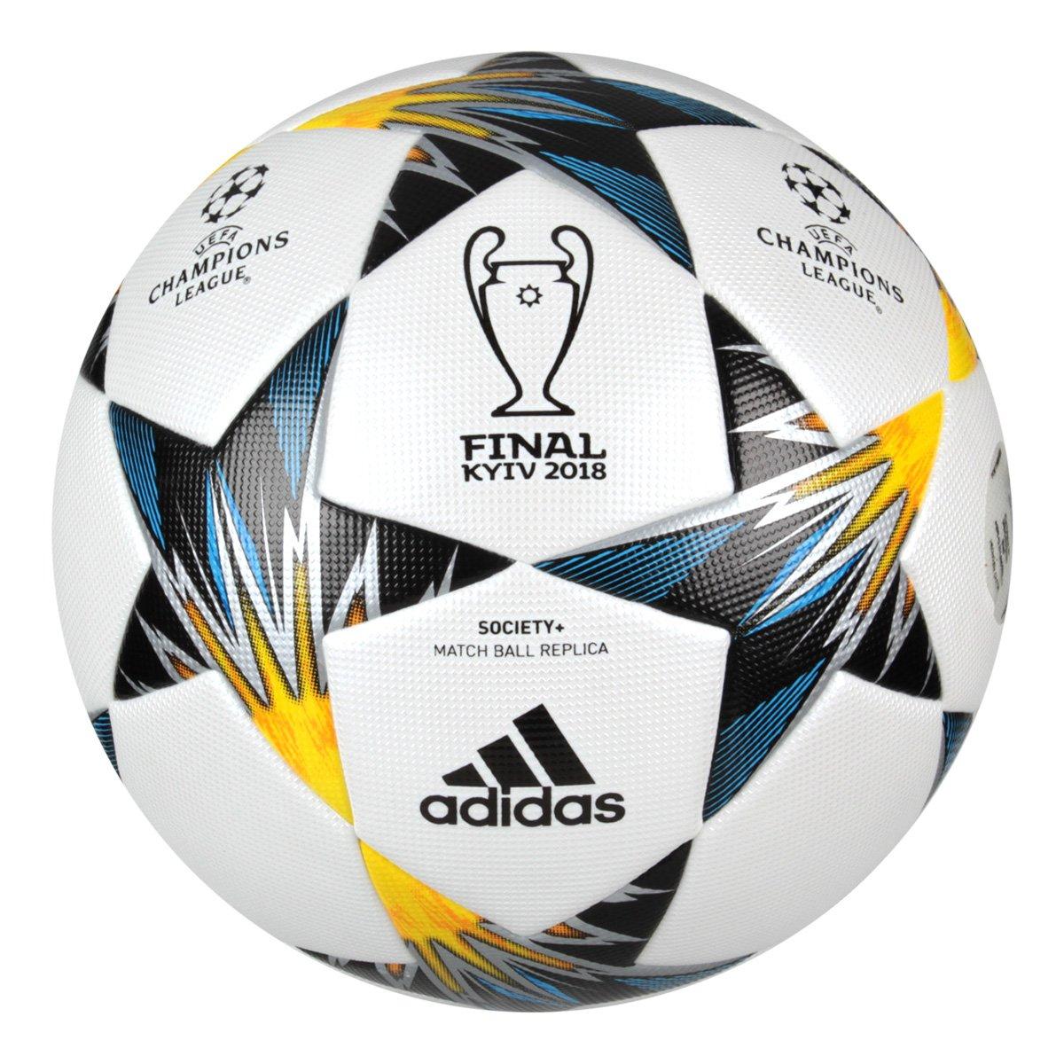 6daa0a81be Bola Futebol Society Adidas Finale Kiev Top