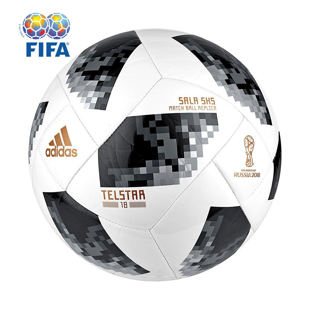 d2a1624934e79 Bola Futsal Adidas Telstar 18 5x5 Copa do Mundo FIFA - Compre Agora ...