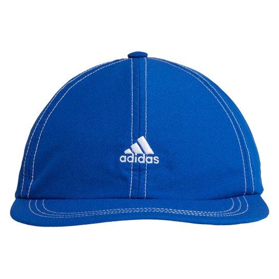 Boné Adidas Aba Reta Strapback Corrida - Azul Royal