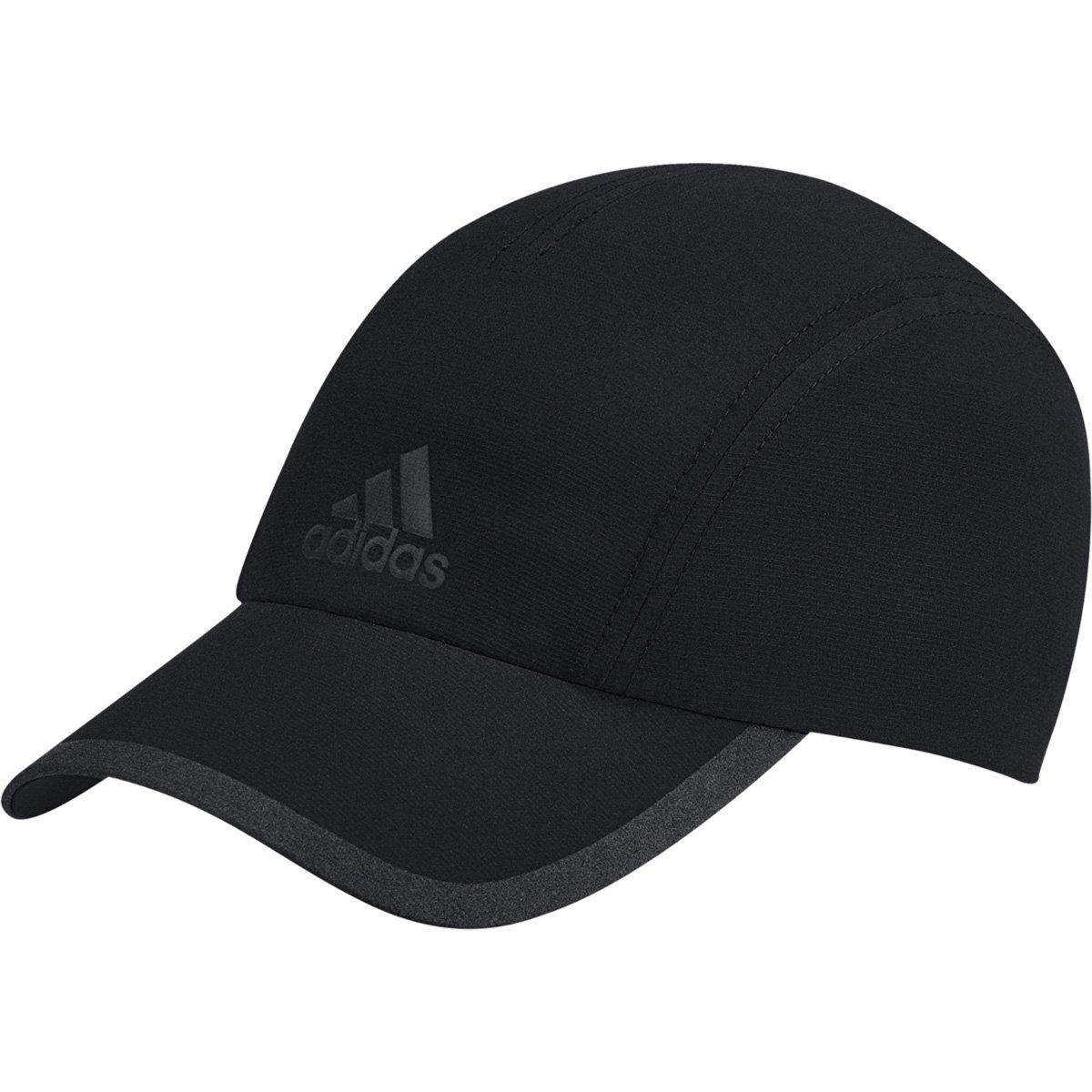 Boné Adidas ClimaCool Aba Curva - Preto e Cinza - Compre Agora  79675e98f77