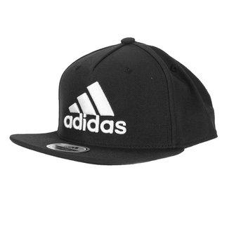 Boné Adidas Snap Back Logo Aba Reta