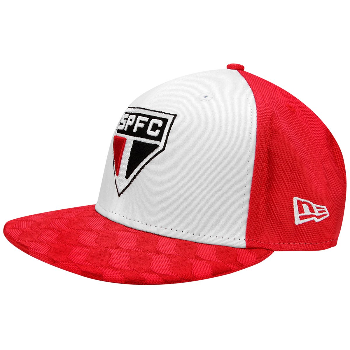 4bad27ca7cba3 Boné New Era São Paulo Aba Reta 5950Fifty Masculino - Compre Agora ...
