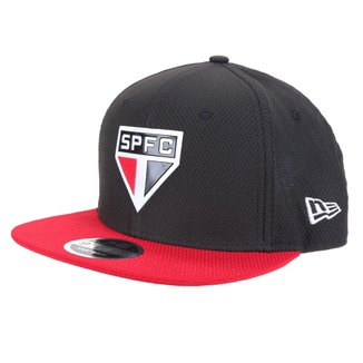 Boné New Era São Paulo Aba Reta Snapback Diamond Original Fit 9Fifty