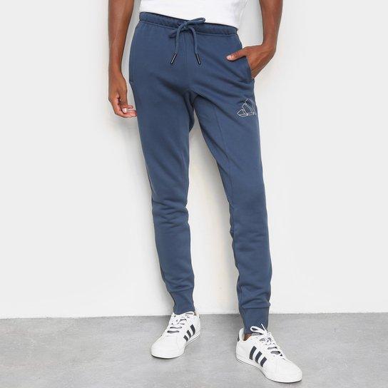 Calça Adidas Bics Gfx Masculina - Azul