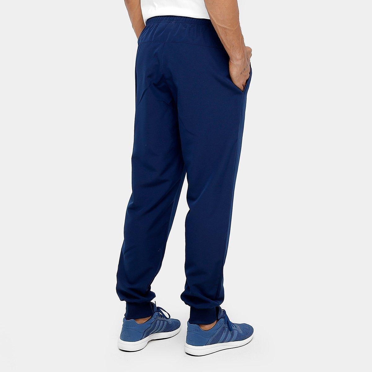 Calça Adidas Ess Stanford 2 Masculina - Azul - Compre Agora  cd602e60f8d3e
