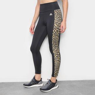 Calça Adidas Leopard 7/8 Feminina