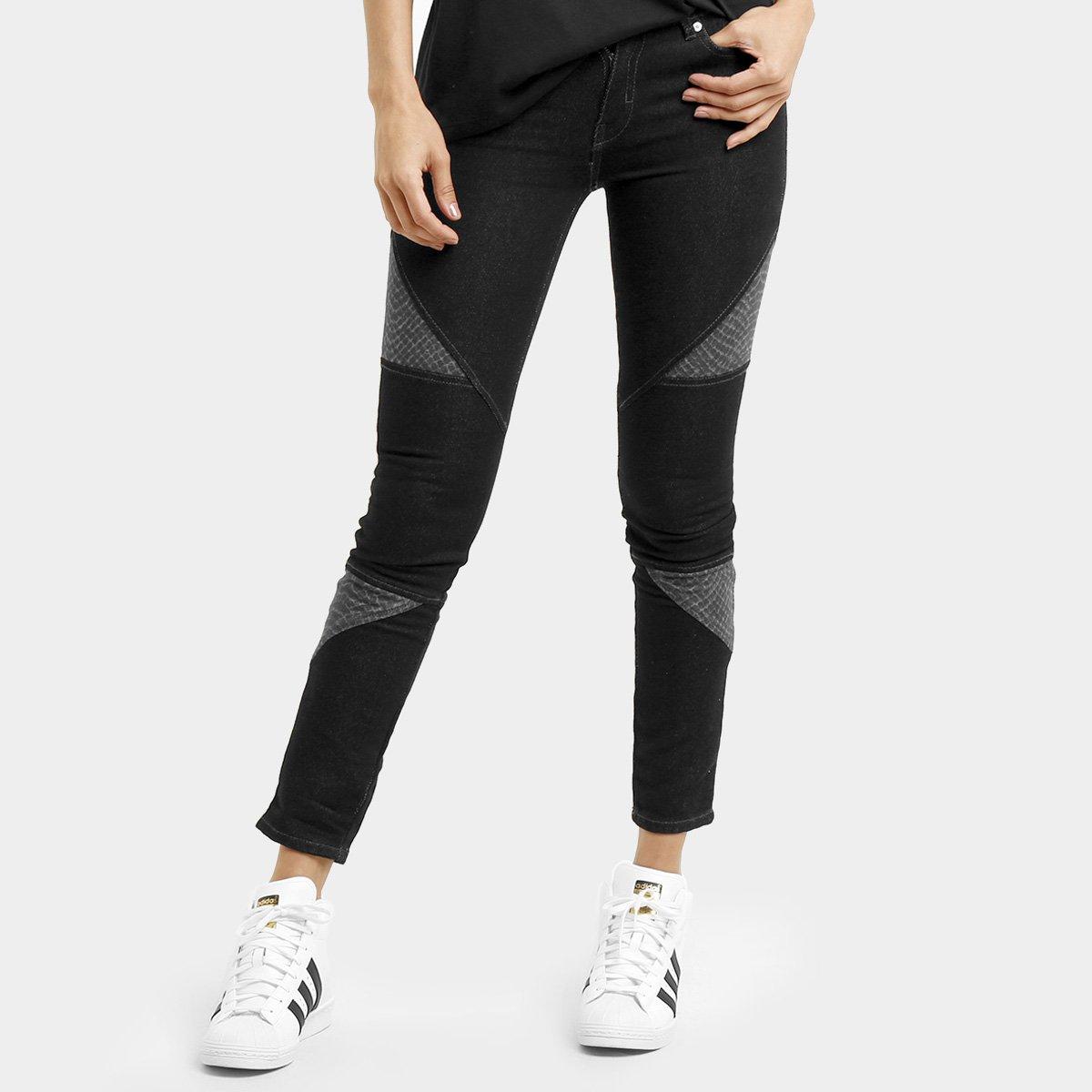 37b06a14a Calça Adidas Originals Denim Clrd Superskinny - Preto e Cinza - Compre Agora  | São Paulo Mania