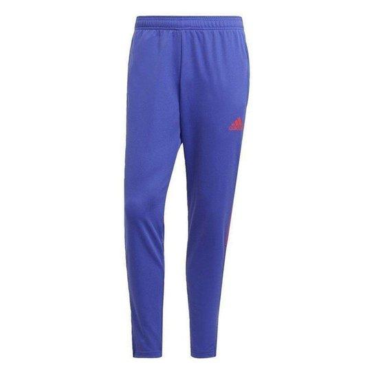 Calça Adidas Tiro Primeblue Slim Masculina - Azul