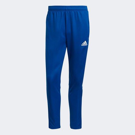 Calça Adidas Treino Tiro 21 Slim Masculina - Azul Royal