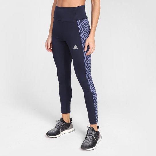 Calça Adidas Zebra 7/8 Feminina - Lilás