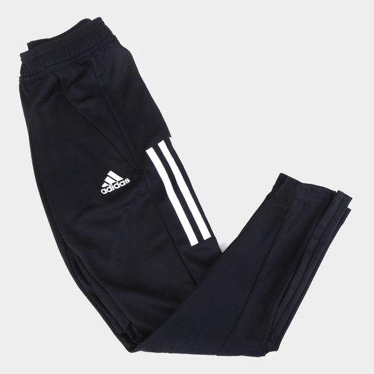 Calça Juvenil Adidas Condivo 20 Treino - Preto+Branco