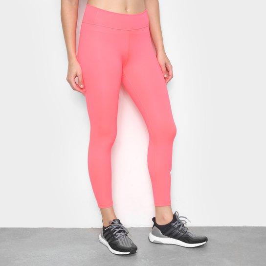 Calça Legging Adidas Circuit Badge Of Sport 7/8 Feminina - Rosa+Pink