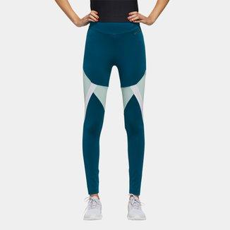 Calça Legging Adidas Colorblock Mesh Feminina