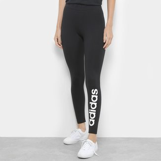 Calça Legging Adidas Estampa Logo Feminina