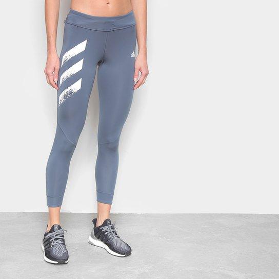 Calça Legging Adidas Own The Run PB Feminina - Azul