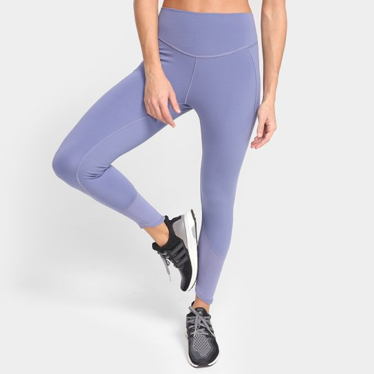 Calça Legging Adidas Yoga 7/8 Feminina - Lilás