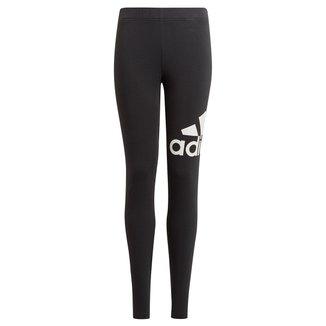 Calça Legging Infantil Adidas Essentials Big Logo Feminina