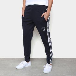 Calça Moletom Adidas 3 Listras Aeroready Feminina