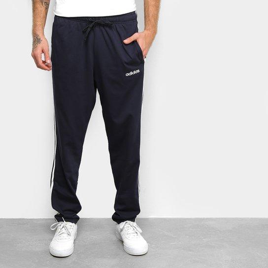 Calça Moletom Adidas Clássica Masculina - Marinho