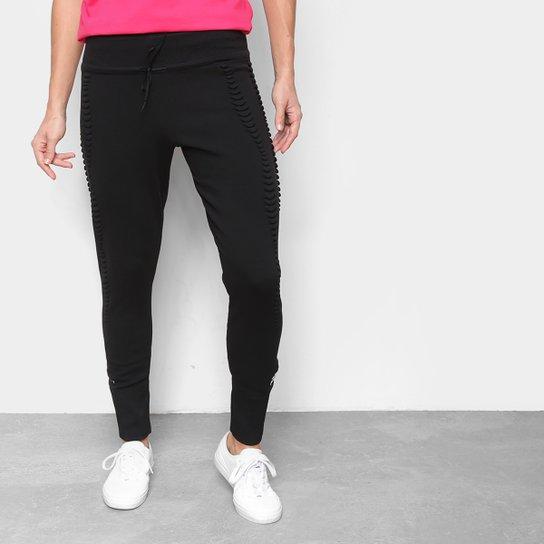 Calça Skinny Adidas Knitted Pant Feminina - Preto