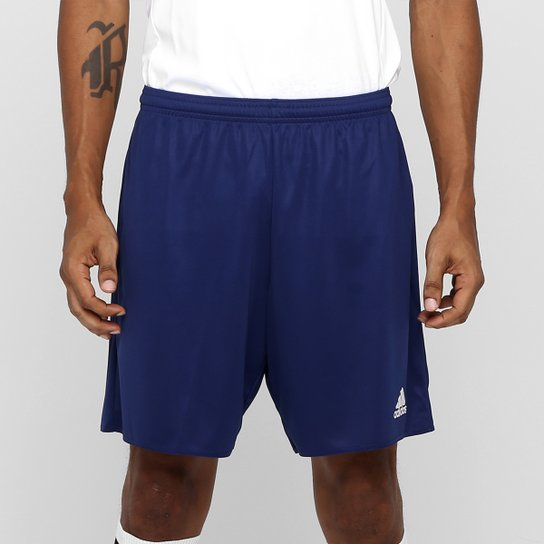 Calção Adidas Parma Masculino - Marinho+Branco