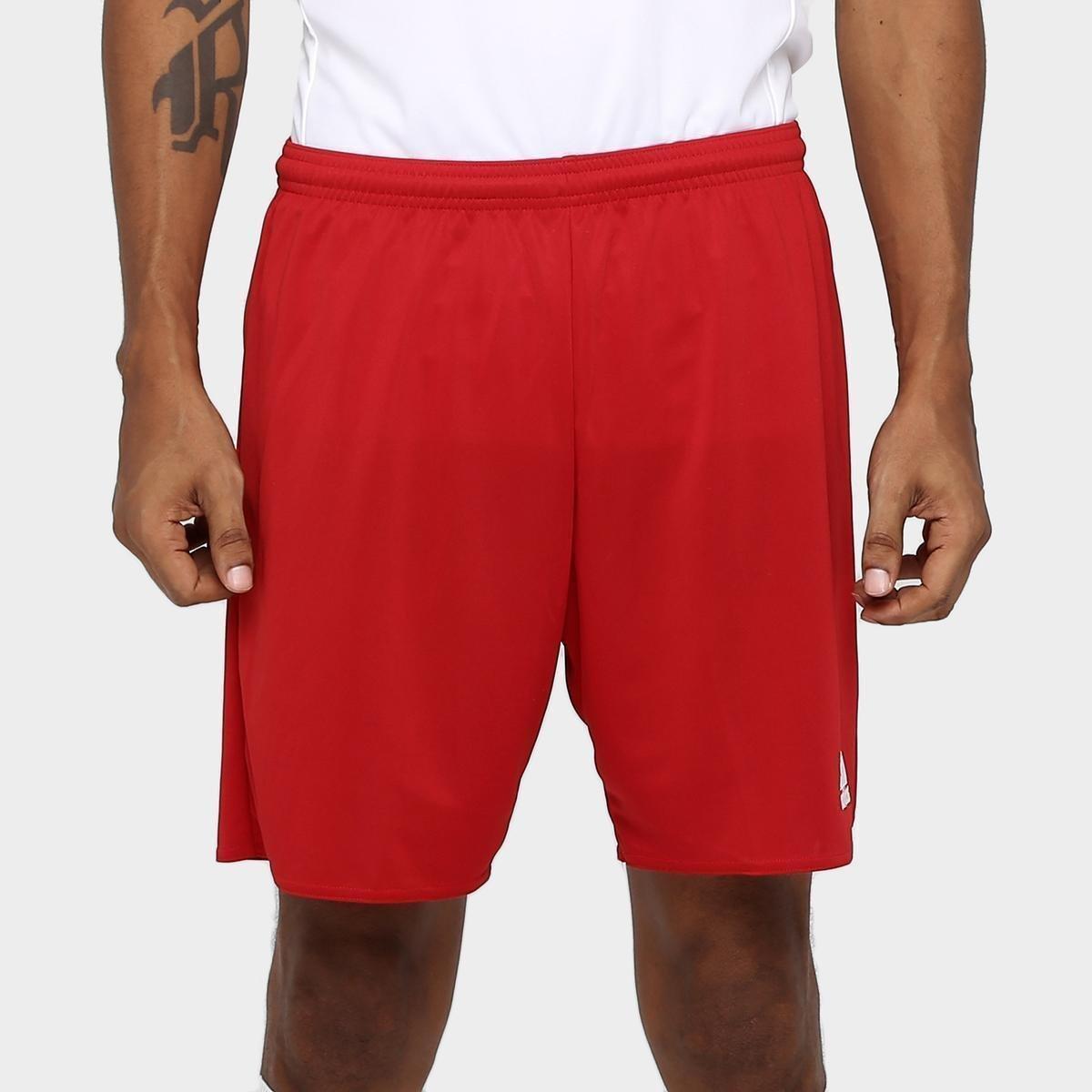 Calção Adidas Parma Masculino - Vermelho e Branco - Compre Agora ... 9f119eb36c631