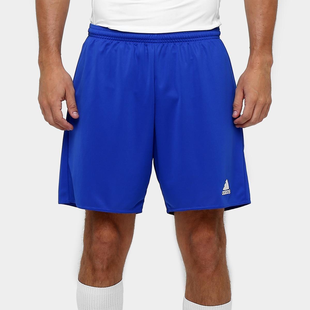 Calção Adidas Parma Masculino - Azul e Branco - Compre Agora  0975c80bbcd75