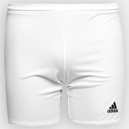 Calção Infantil Adidas Parma 16  - Branco