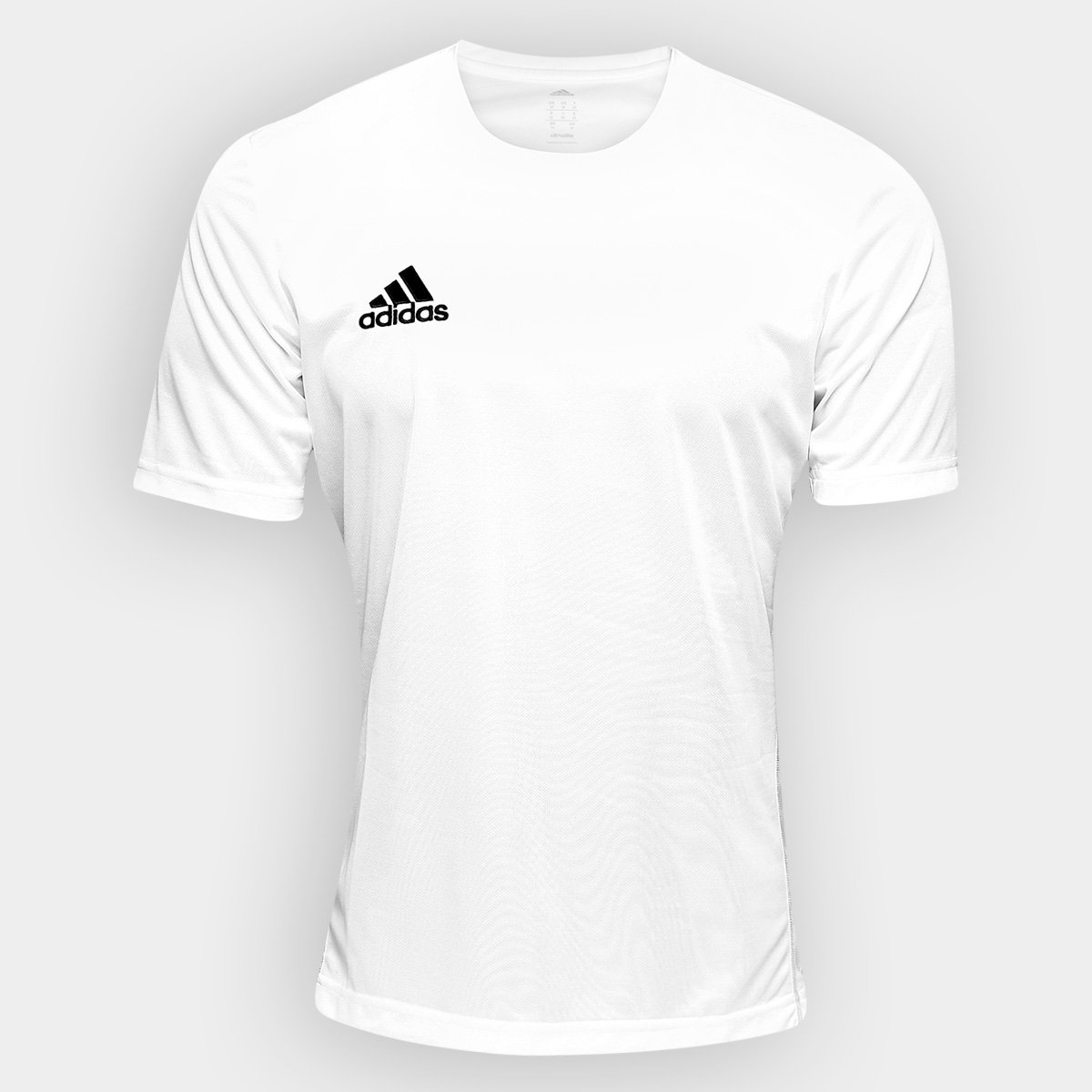 0cfec523913 Camisa Adidas Core 15 Treino Masculina - Branco e Preto - Compre Agora