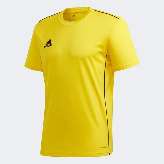 Camisa Adidas Core 18 Masculina - Amarelo