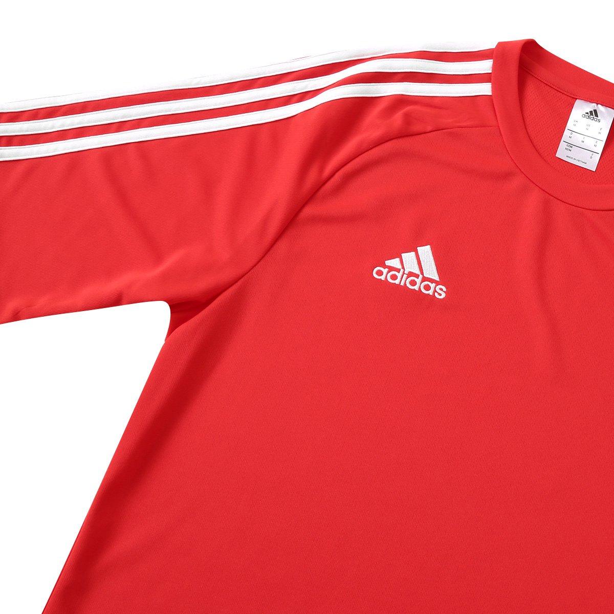 Camisa Adidas Estro 15 Masculina - Vermelho e Preto - Compre Agora ... 88f273cd048ff