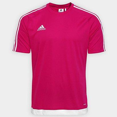 Camisa Adidas Estro 15 Masculina - Pink - Compre Agora  095ca481ac81e