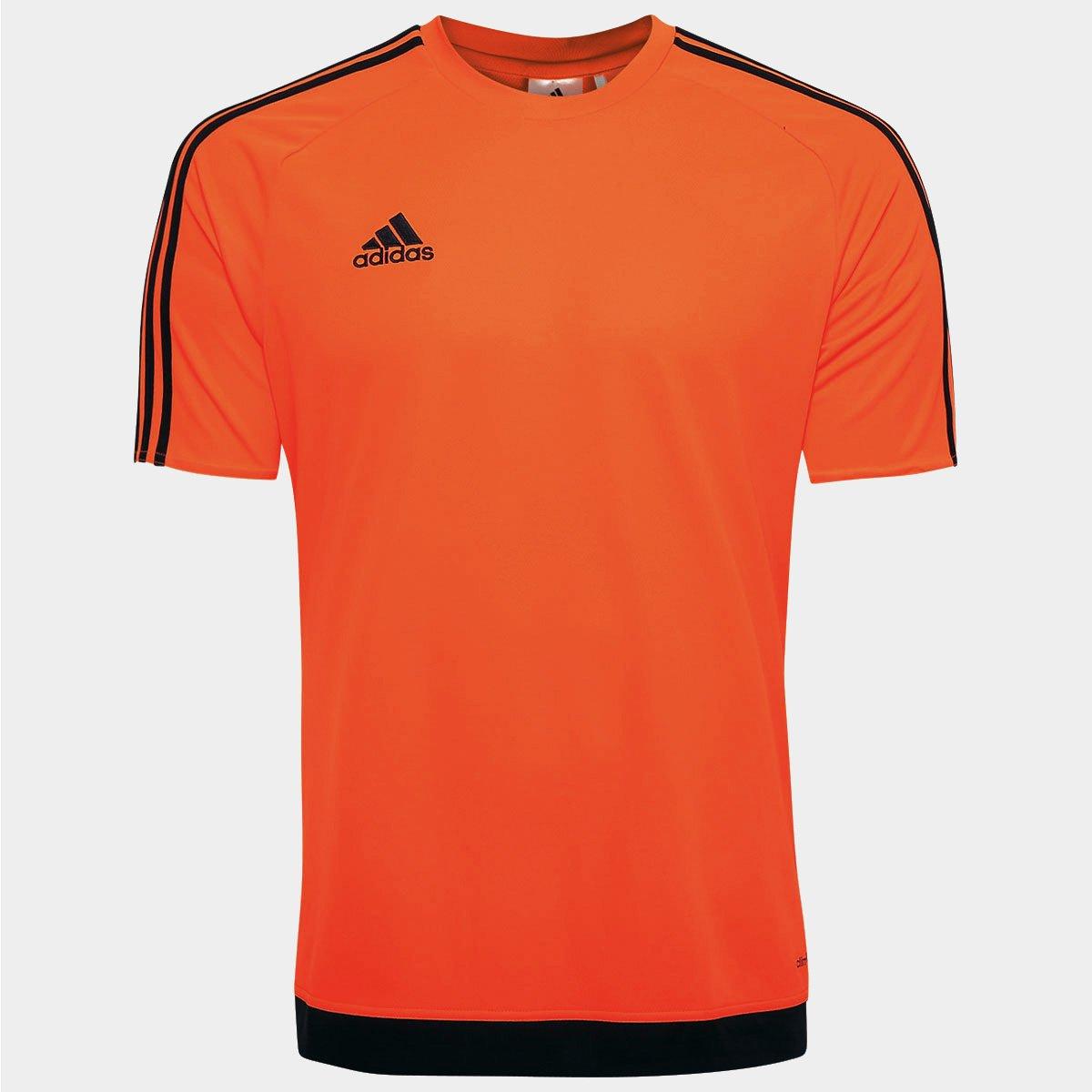 72b96cf4a2 Camisa Adidas Estro 15 Masculina - Laranja Escuro - Compre Agora ...