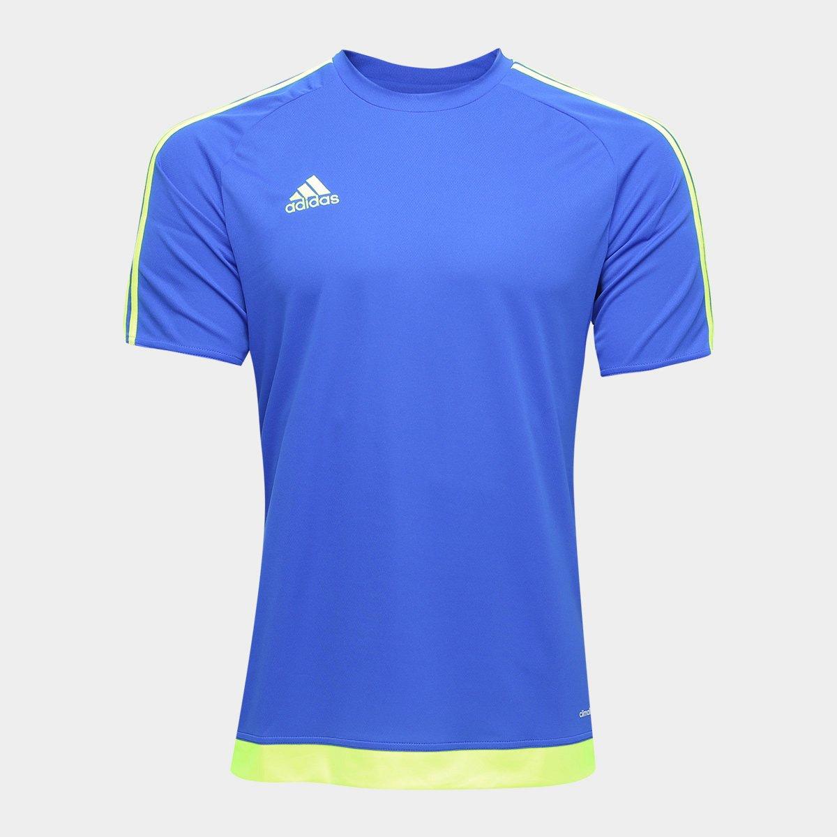 9fb06c981e Camisa Adidas Estro 15 Masculina - Azul Escuro - Compre Agora