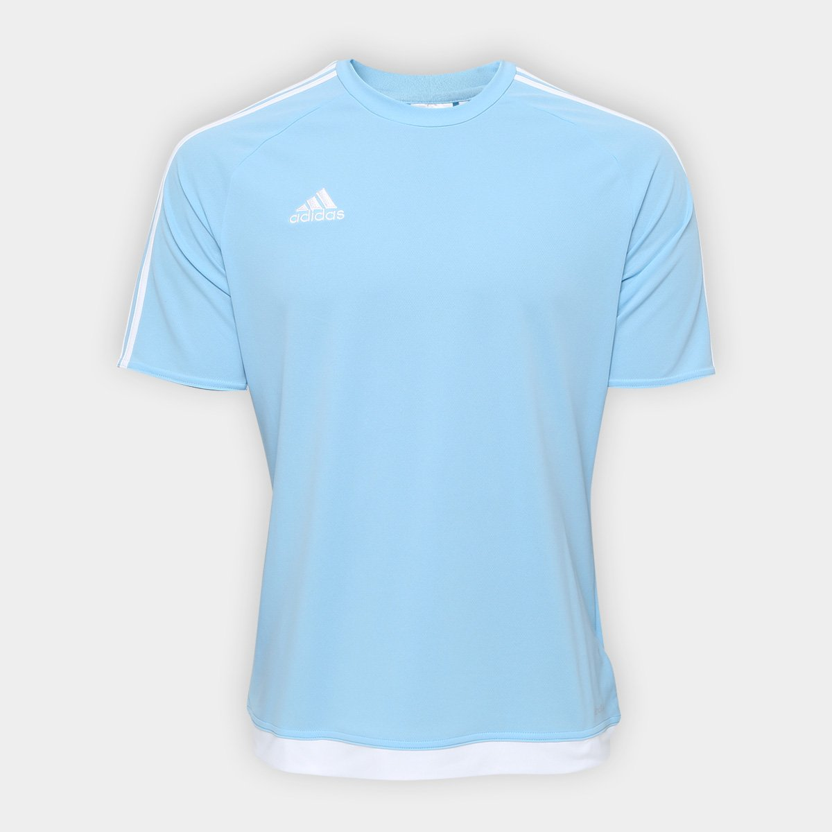 dbedb9b16b287 Camisa Adidas Estro 15 Masculina - Azul Claro - Compre Agora
