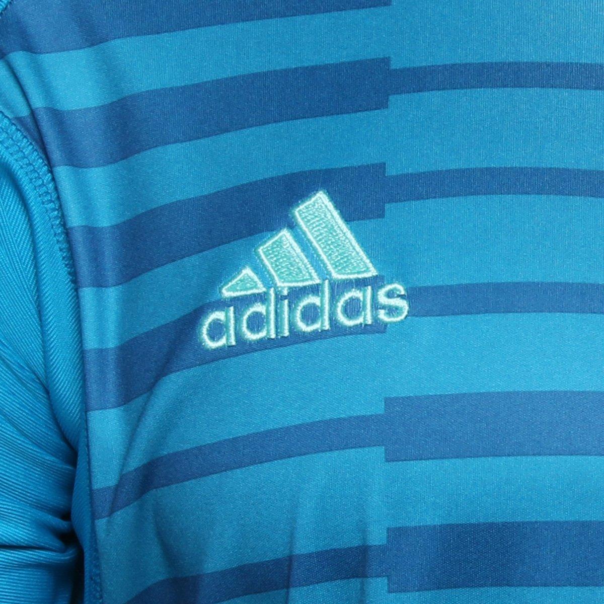 25fabf5ef1 Camisa Adidas Goleiro Adipro 18 Masculina - Azul - Compre Agora ...