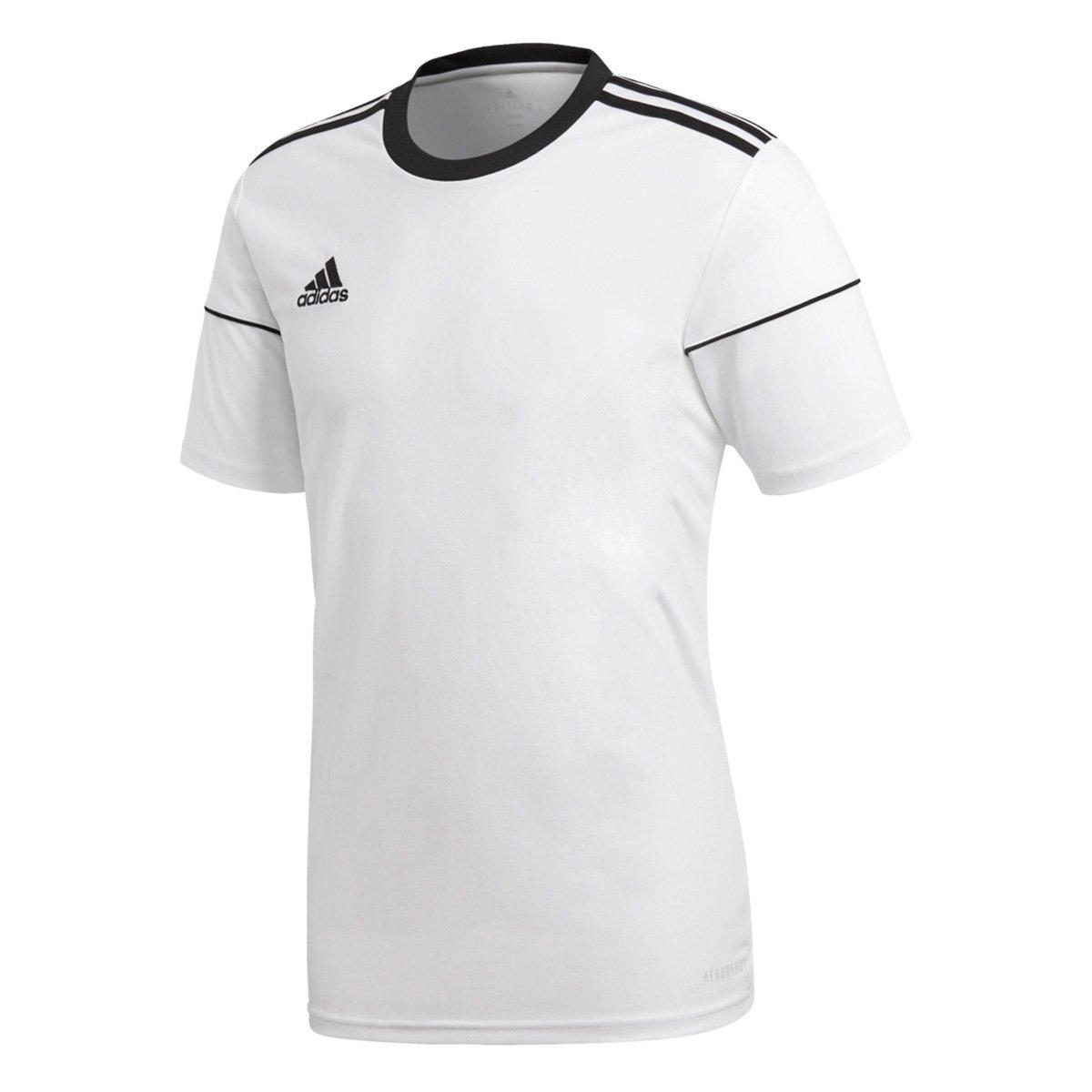edcc10c41d763 Camisa Adidas Squadra 17 Masculina - Branco e Preto - Compre Agora ...